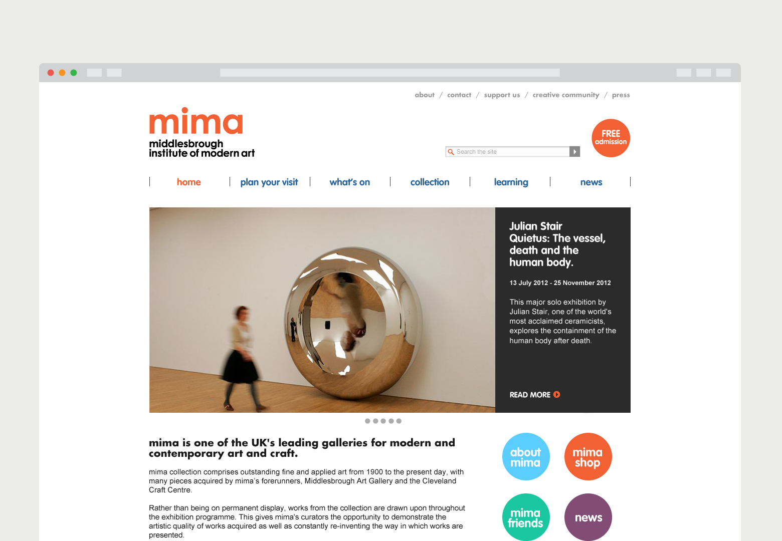 mima (Middlesbrough Institute of Modern Art)
